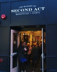 Second Act storefront