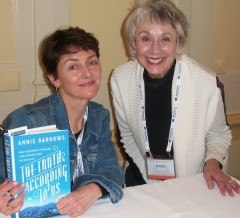 Annie Barrows and Kate Farrell at the SF Writers' Conference 2016