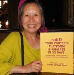 Teresa LeYung Ryan, featured member interview Writers Platform Building Coach
