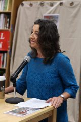 Anita Amirrezvani moderator at National Reading Group Month – 2017