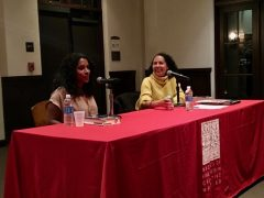 Shanti Sekaran (left) at SMC