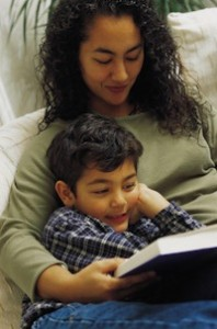 Mother Reading to Child, Early Literacy