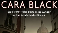 Cara Black's mystery novel, MURDER ON THE CHAMP DE MARS,  Book Review
