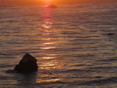 Sunset on shoreSM
